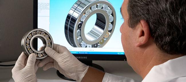 SKF solid bearing